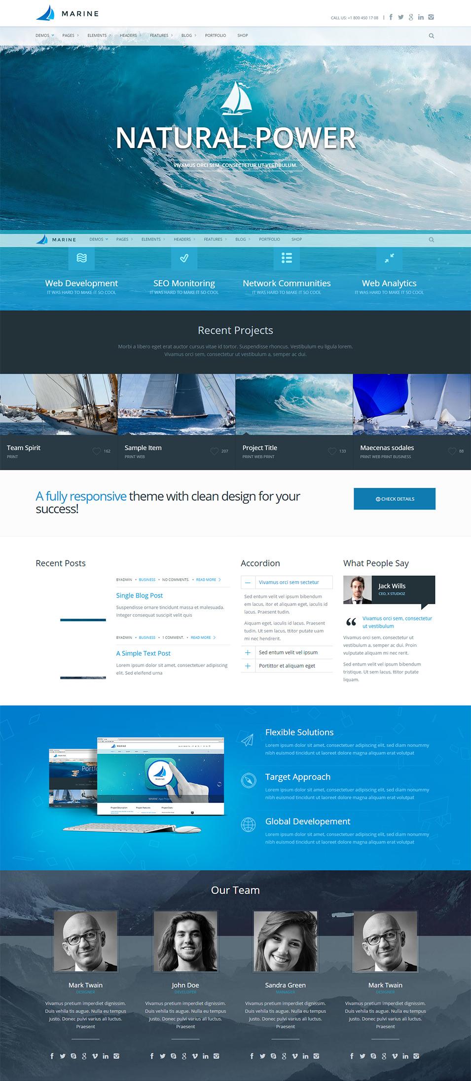 free html5 responsive templates - 20 responsive html5 themes templates free premium