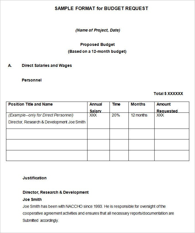 Marketing Budget Template 17 Free Word Excel PDF Documents – Budget Proposal Template Word