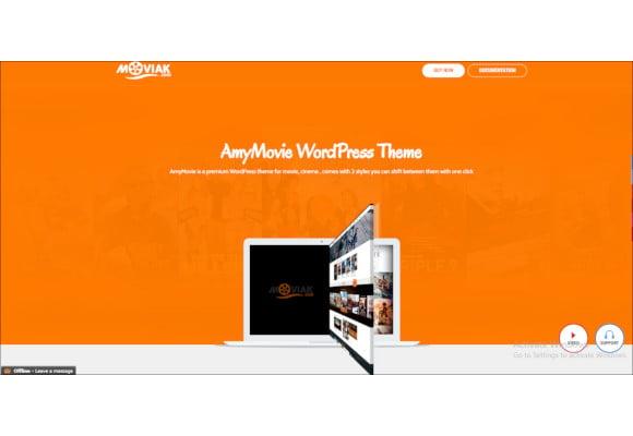 movie and cinema wordpress theme