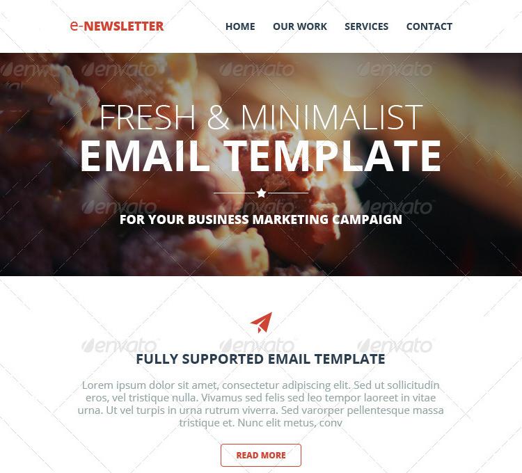 multipurpose e newsletter email template