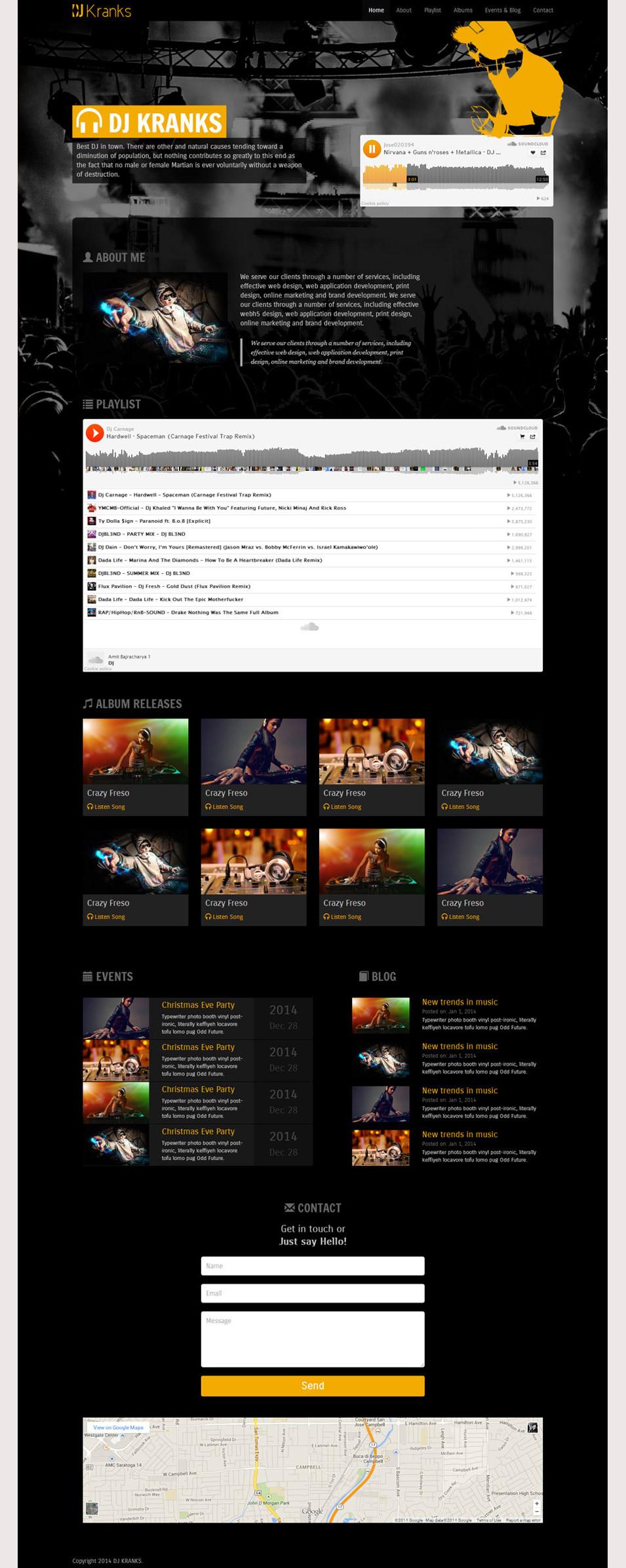 Web Templates Htmlcss Templates Html5 Theme October 2015
