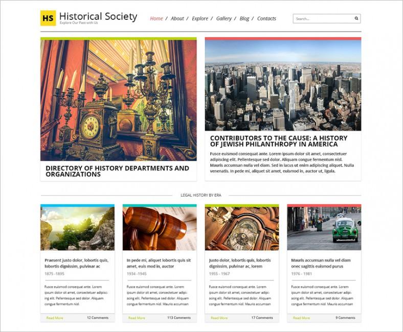 News Portal Responsive HTML Theme