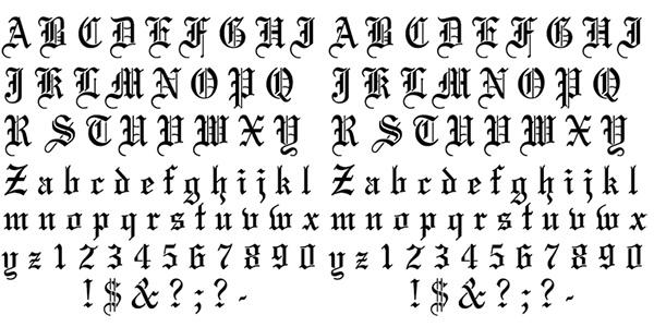 Alphabet Stencils | Free & Premium Templates