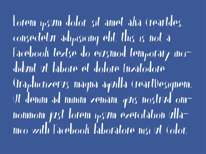 olis handwriting truetype font