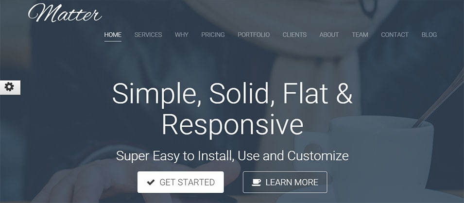 one multipage wp business theme