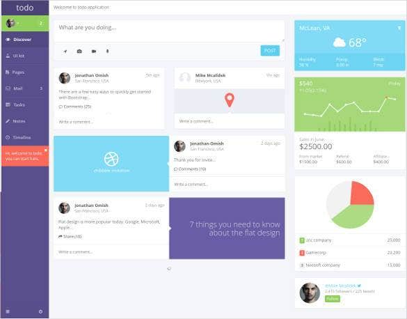 php bootstrap admin template1