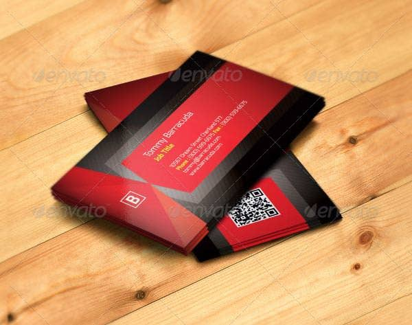 68 best psd business card templates free premium templates red business card template reheart Gallery
