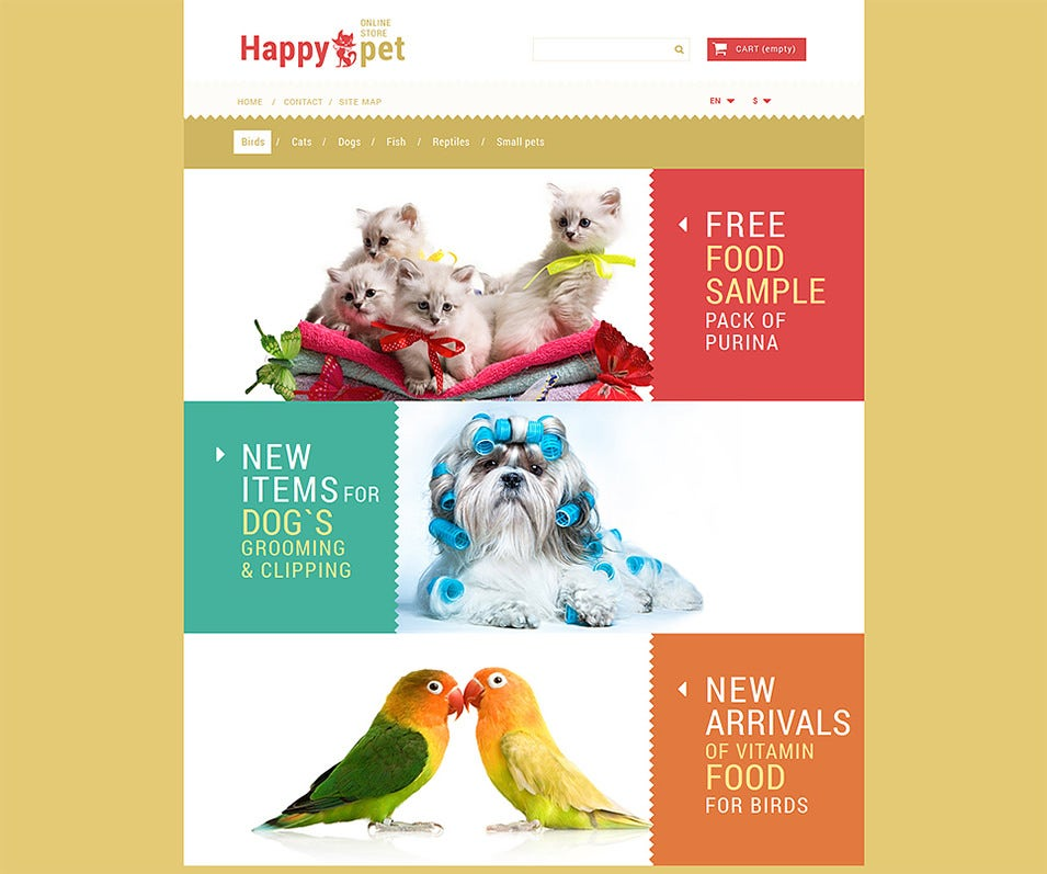 pets shopping prestashop theme