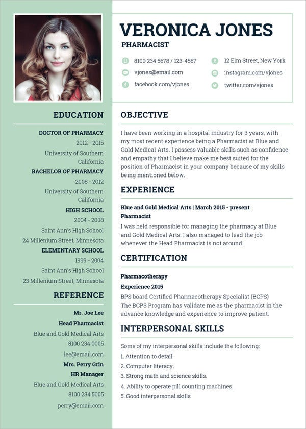 Best Resume Formats  Free Samples Examples Format  Free