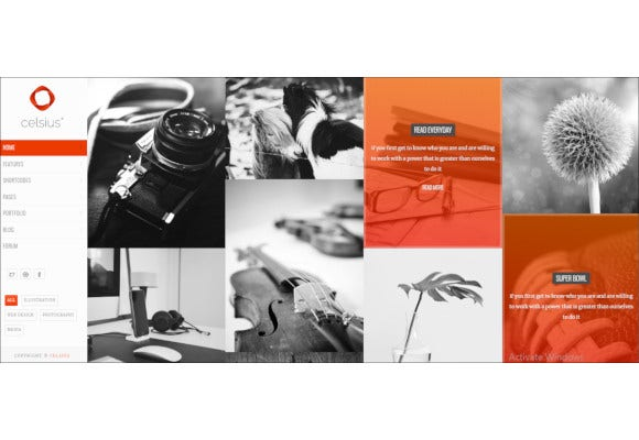 photography video portfolio responsive joomla template
