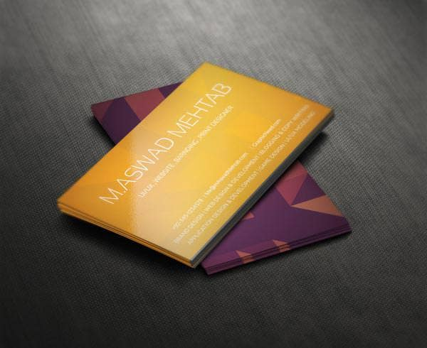 premium quality business card design psd for free