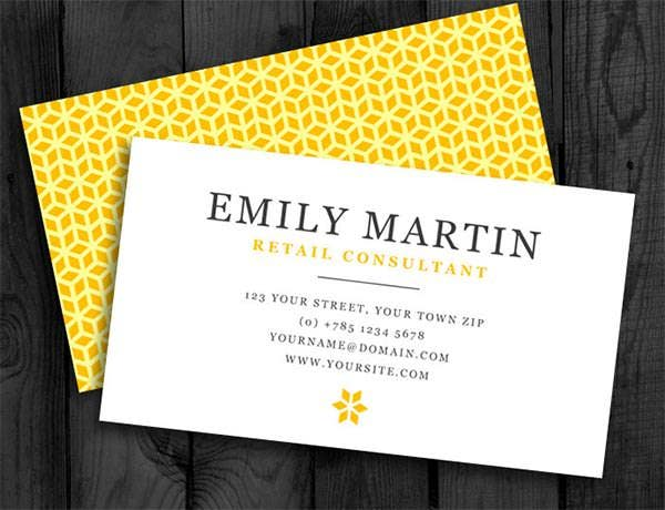printable diy business card template