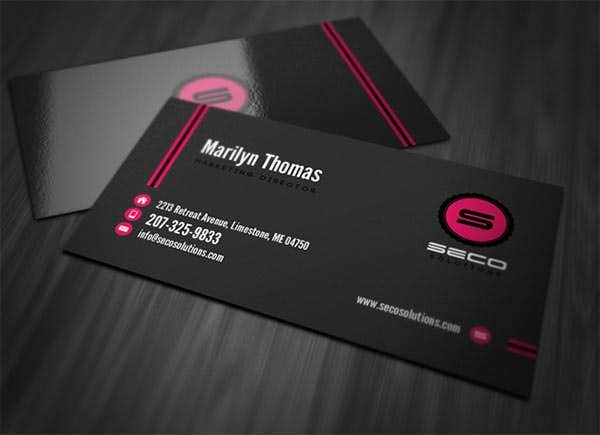 Best Premium Business Card Template Designs Free Premium - Professional business cards templates