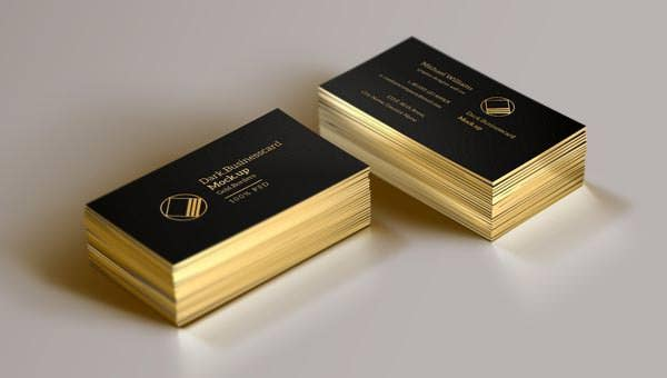 psd business card mock up vol13