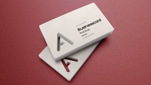 psd business card mock up vol23