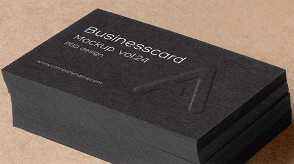 psd business card mock up vol24
