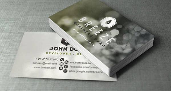 55 Best Corporate Business Card Templates