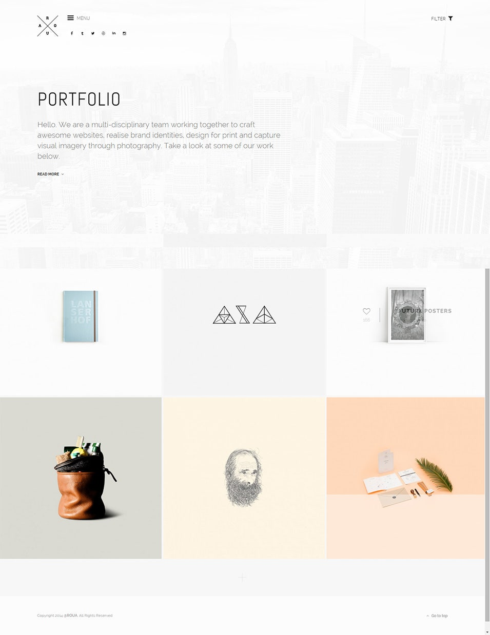 Graphic Design Wordpress Theme