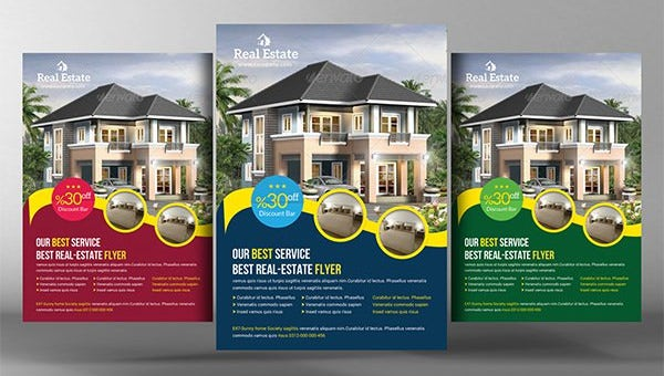 real estate flyer templates1