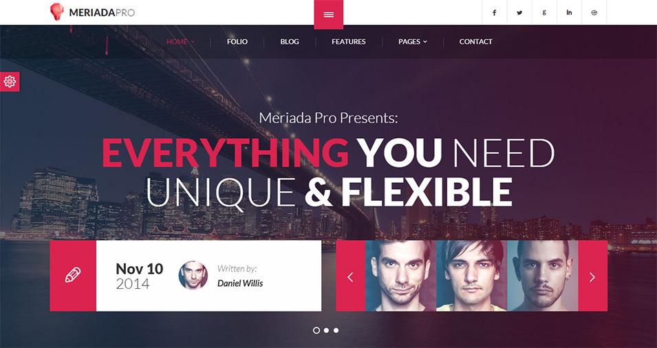 responsive corporate html template