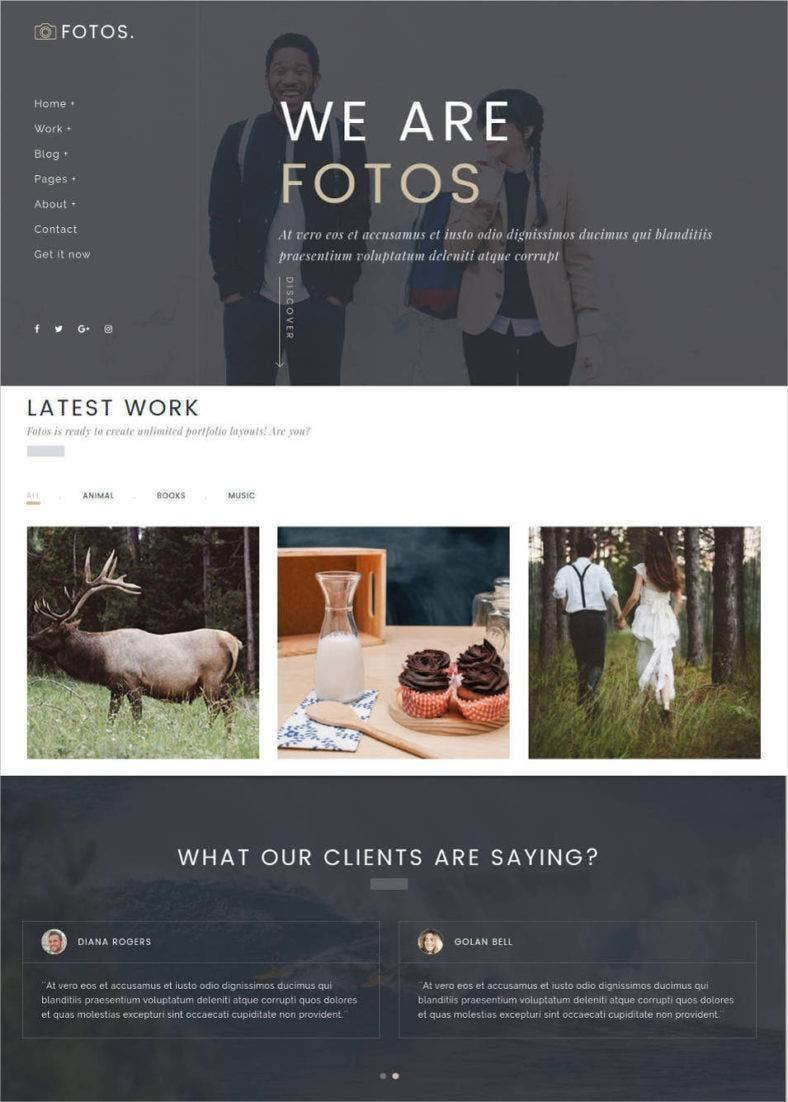 responsive gallery bootstrap wordpress theme1 788x1102