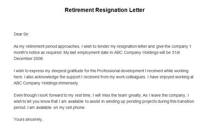 Resignation Letter Effective Immediately