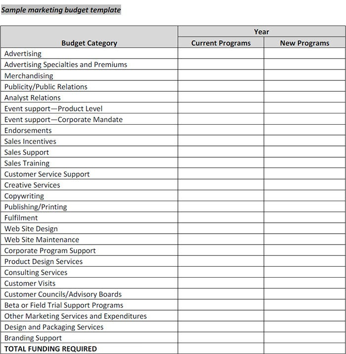 Marketing Budget Template   Free Word Excel Documents Download HSE9NsUq