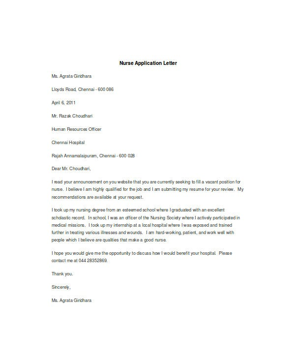 How To Write A Covering Letter For A Job Vacancy Cprc