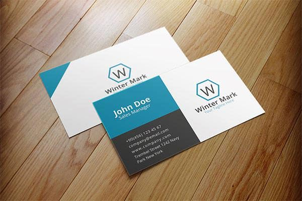 63 Corporate Business Card Templates Indesign Ai Word Free