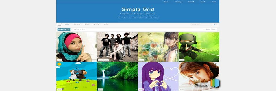 30 Best Gallery Style Blog Templates Themes Free Premium