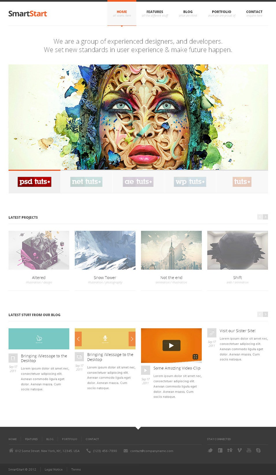25  responsive html5 themes  u0026 templates