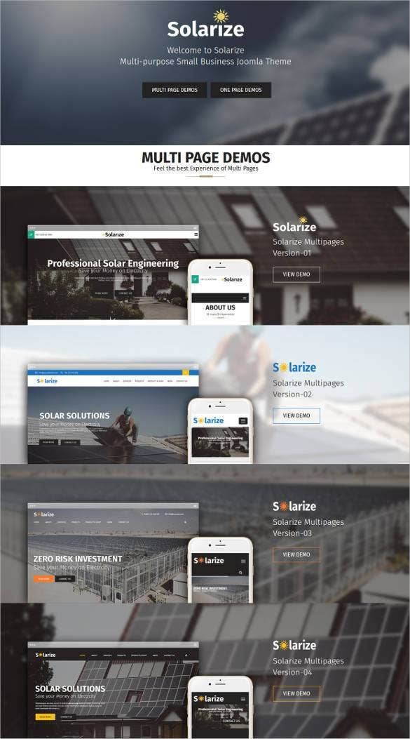 51 business bootstrap themes templates free premium templates solarize multipurpose small business joomla bootst accmission Gallery