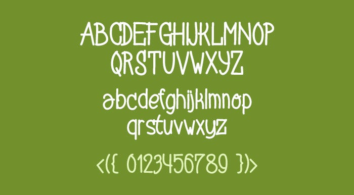 stylo standard hand drawn font