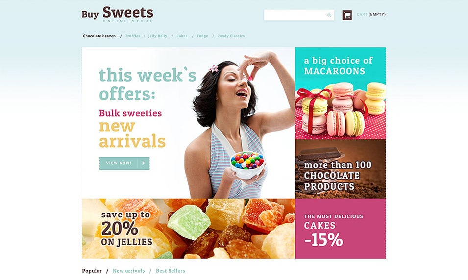 sweet store prestashop theme