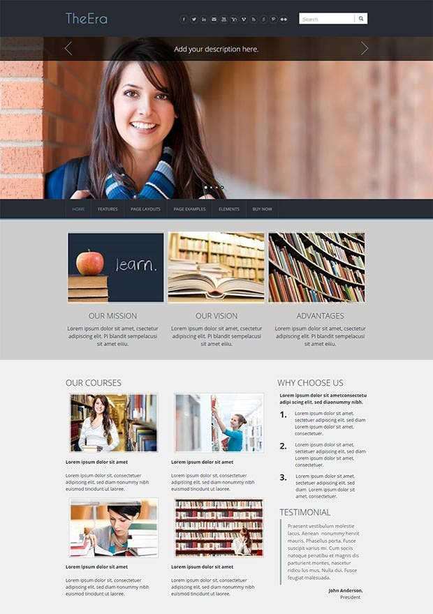theera weebly theme and template1