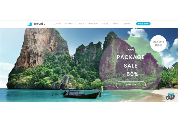 travel agency wordpress theme2