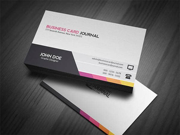 61 corporate business card templates free premium templates. Black Bedroom Furniture Sets. Home Design Ideas