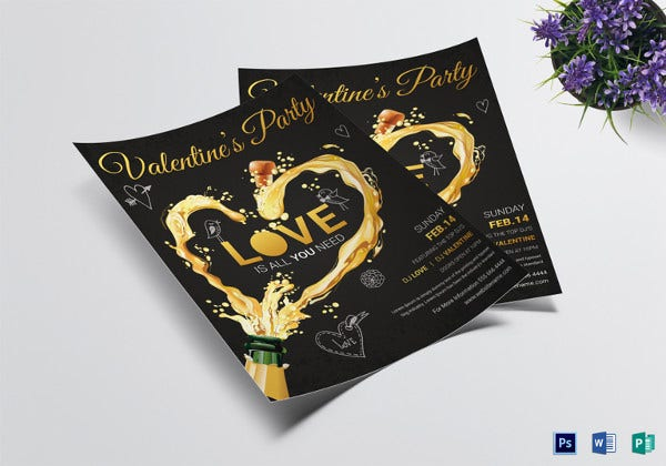 valentine-party-flyer-design-template