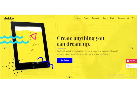 web design agency theme