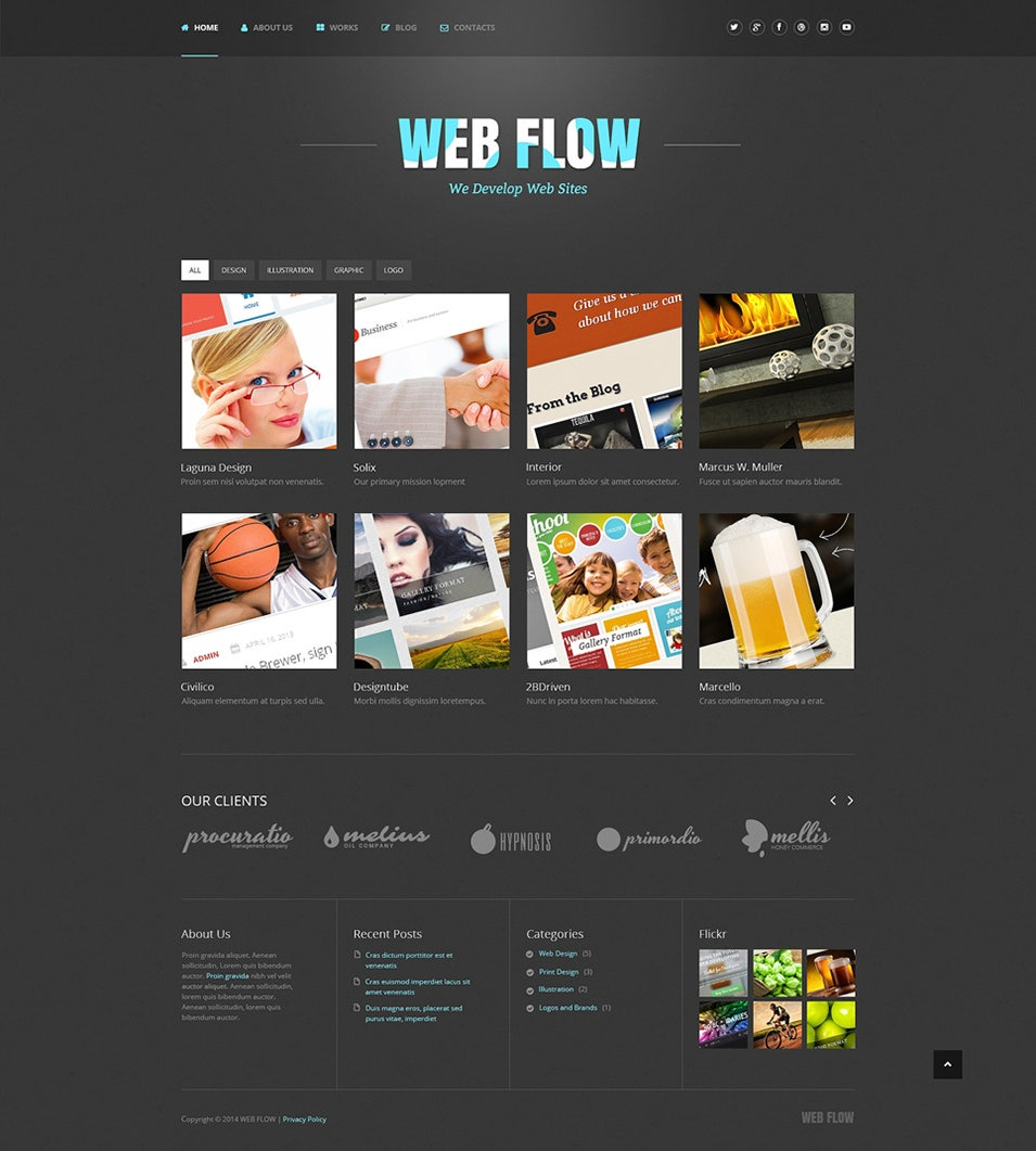 Web Design Responsive WordPress