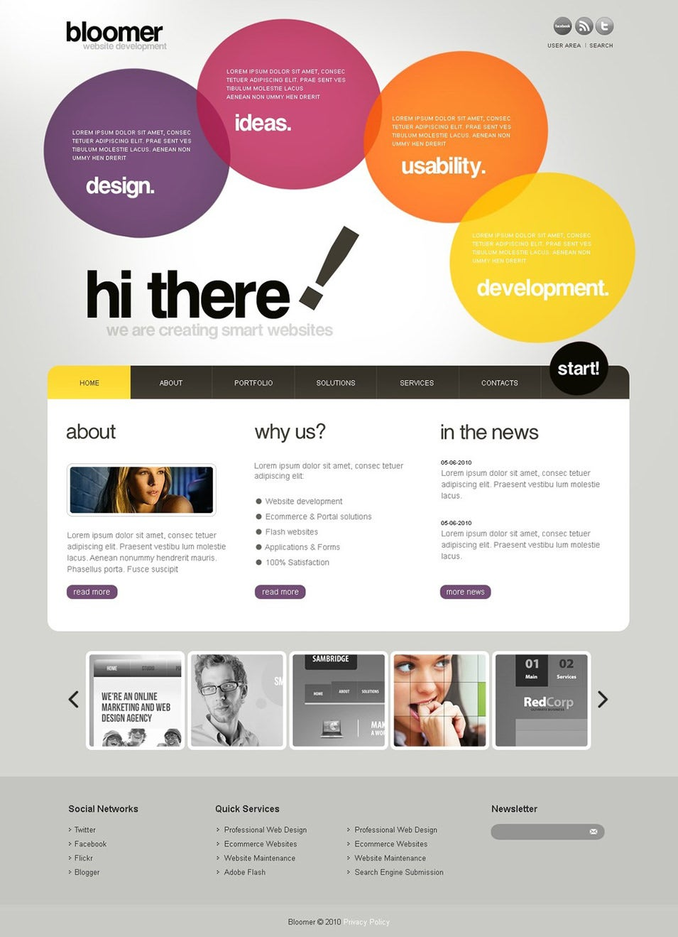 web design wordpress theme2