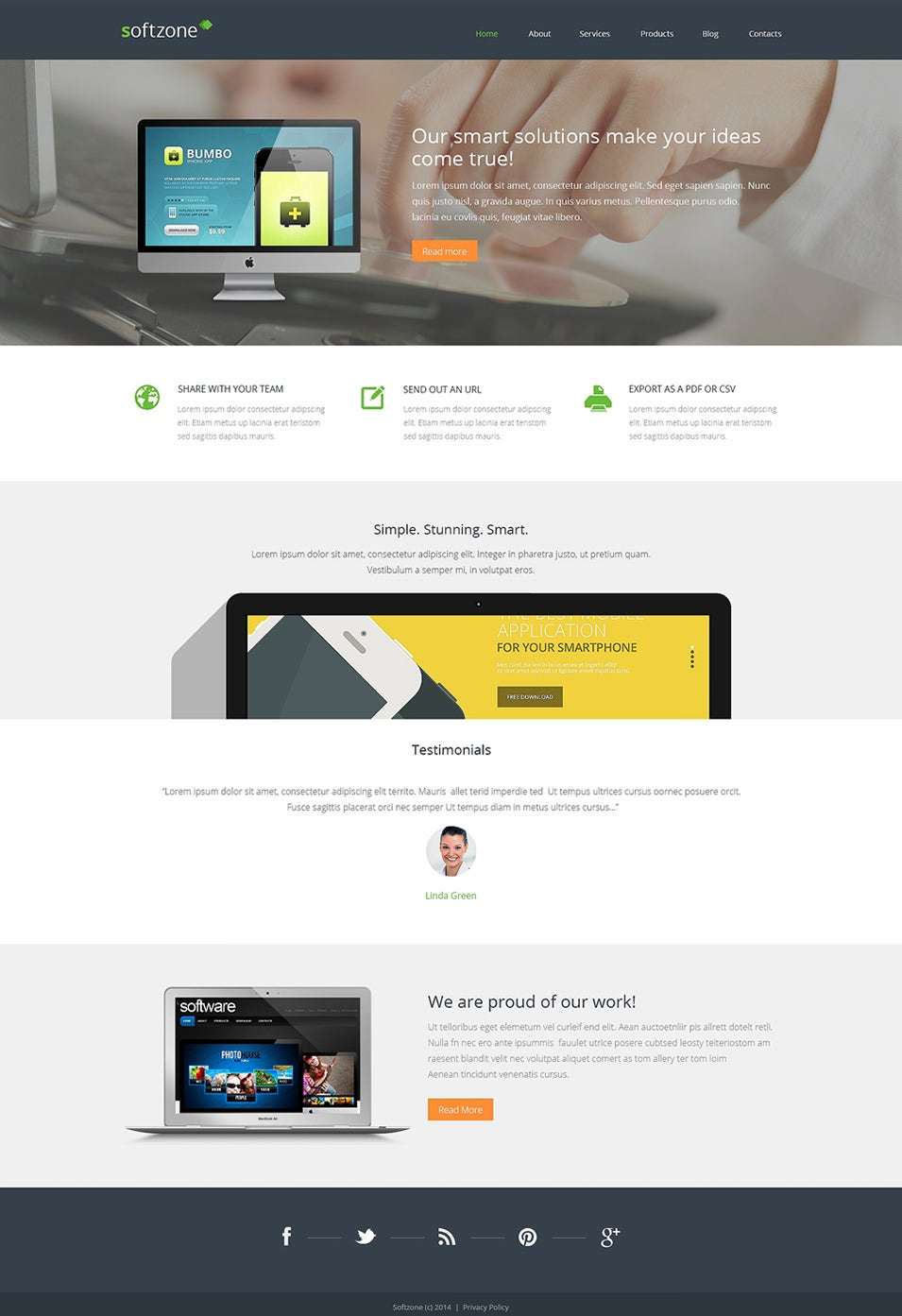 Web Development Responsive WordPress Theme