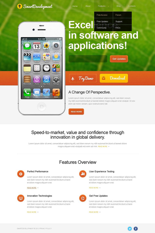 Web Development WordPress Theme