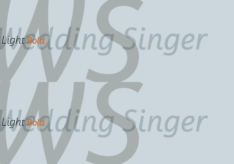 wedding singer font