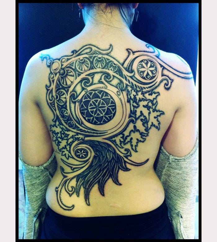 world of warcraft moongoddess tattoo