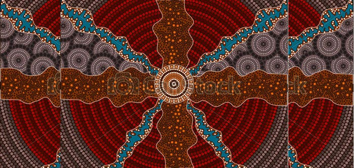 Beautiful aboriginal dot painting templates photos example aboriginal art aboriginal pictures free premium templates toneelgroepblik