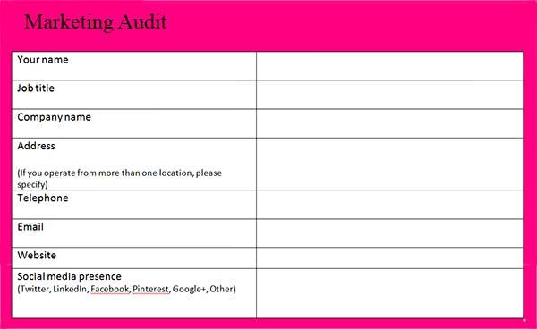 templates – Audit Templates Free