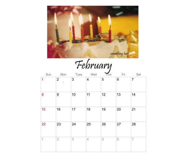 Free Fillable Birthday Calendar Templates | New Calendar Template Site