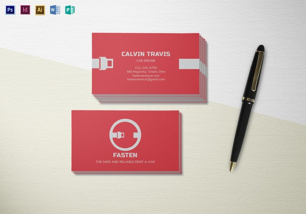 car-rental-business-card