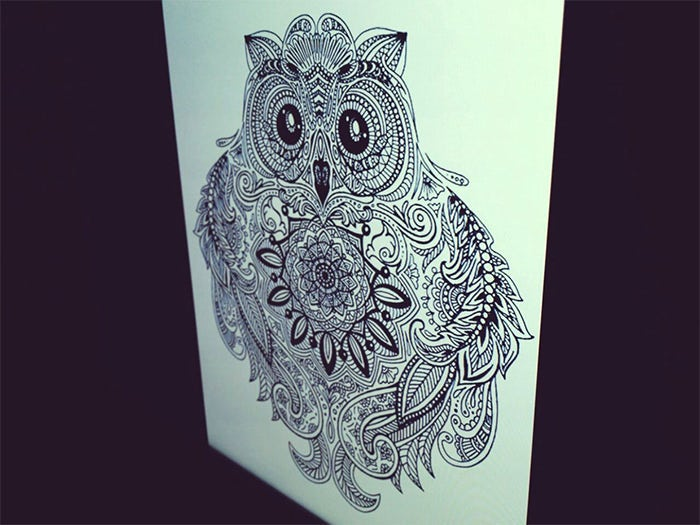 Line Art Tattoo : Amazing fine art tattoo designs for your inspiration free